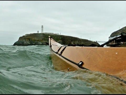 Paddling at the Anglesey Sea Kayak Symposium
