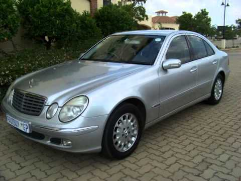 2003 mercedes benz e class e270 cdi elegance auto for sale on auto trader south africa youtube. Black Bedroom Furniture Sets. Home Design Ideas