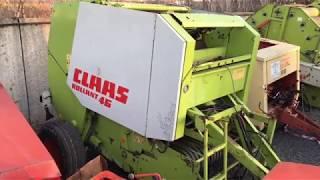 Claas Rollant 46 Обзор рулонного пресс-подборщика