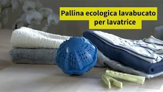 Pallina ecologica lava bucato per lavatrice