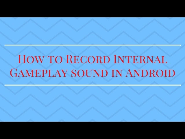 Any Android Apps that can record internal audio? - Android Forums at