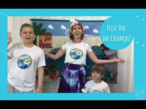 Dia das Crianças com a Fada Dalia e o Jubão