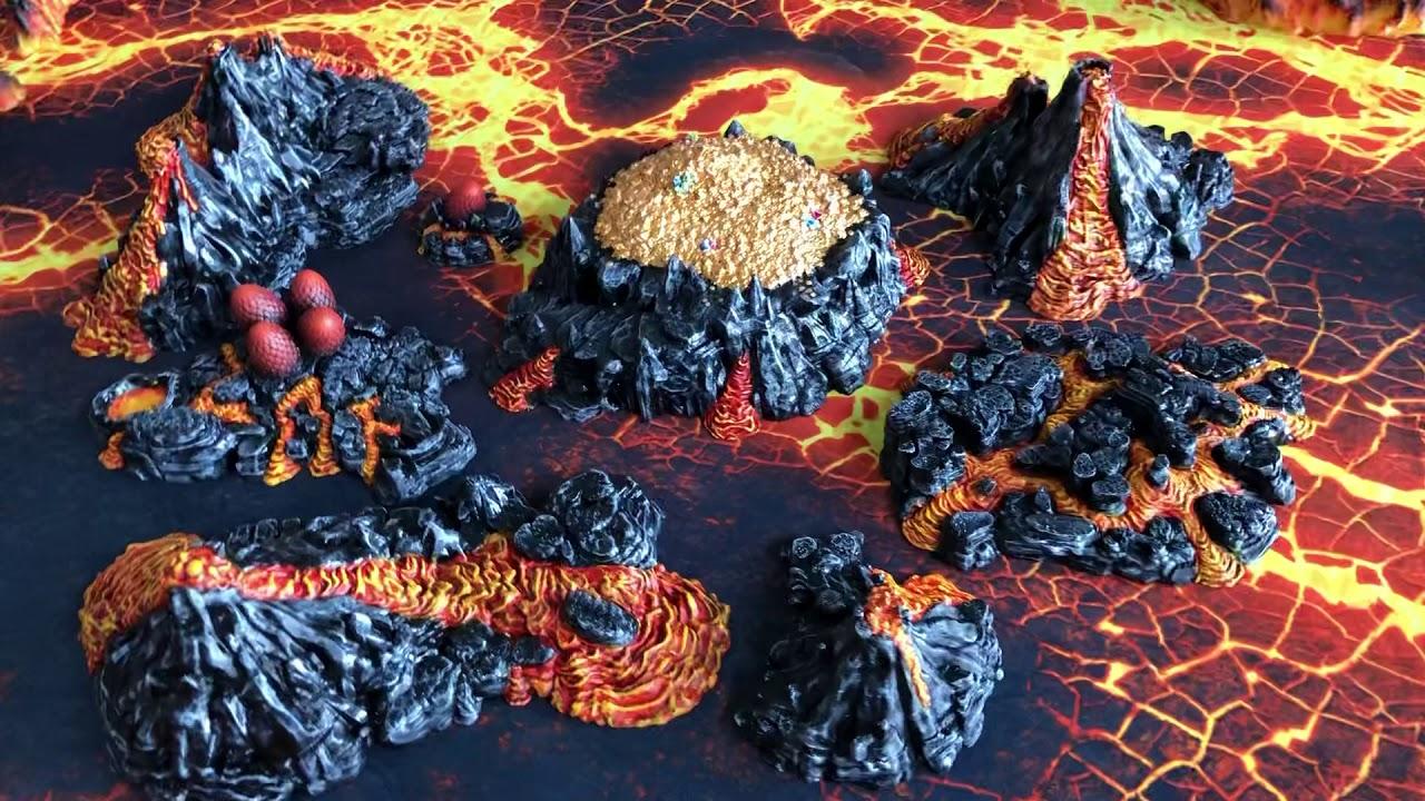 3D Printed Dragons Lair