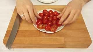 Cách cắt Cà chua siêu nhanh và cực chuẩn chỉ trong 5 giây