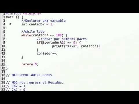 tabla de multiplicar con while en C++   Doovi
