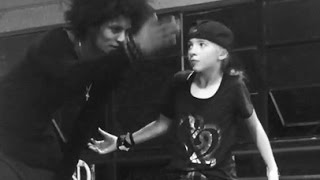 PHOENIX LIL'MINI DANCING WITH LES TWINS IN SF 2016