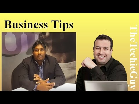 Vinny Lingham, Dragon Den Shark, reveals what every startup businesses should know
