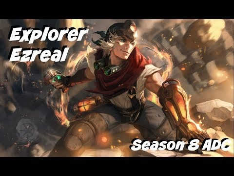 League of Legends: Explorer Ezreal Update ADC Gameplay
