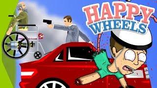 MI FOTTONO LA MACCHINA?! INSEGUIMENTO EPICO!! - Happy Wheels [Ep.27]