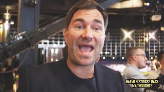 """DEONTAY WILDER WILL HAVE ANTHONY JOSHUA CONTRACT WITHIN A WEEK""!!! ~EDDIE HEARN"