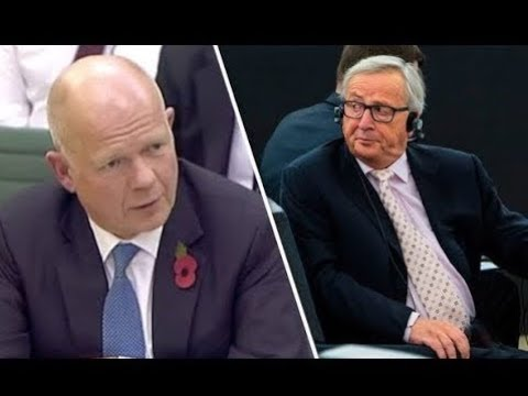 Breaking News - They only talk about themselves!Hague SKEWERS Brussels for refusing UK trade talks
