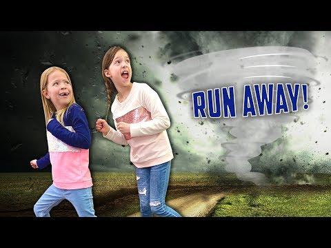A Tornado is Heading for Toy School !!!