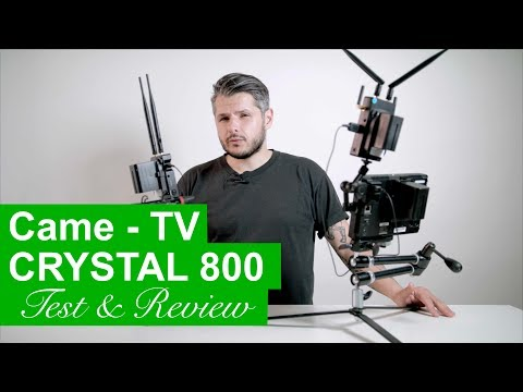 Came TV - Crystal 800 wireless monitor system test and review