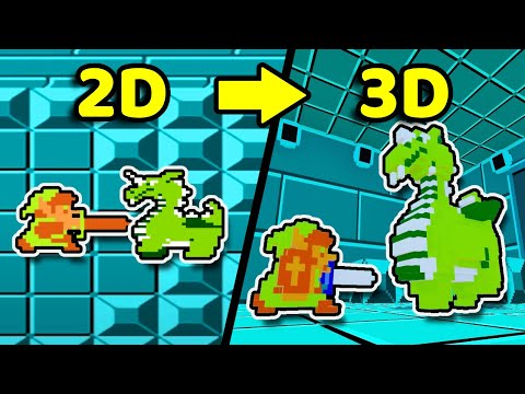 I Made The Legend of Zelda Boss Fights but they're 3D