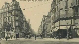 Yves Montand - Faubourg Saint-Martin (HQ) Video
