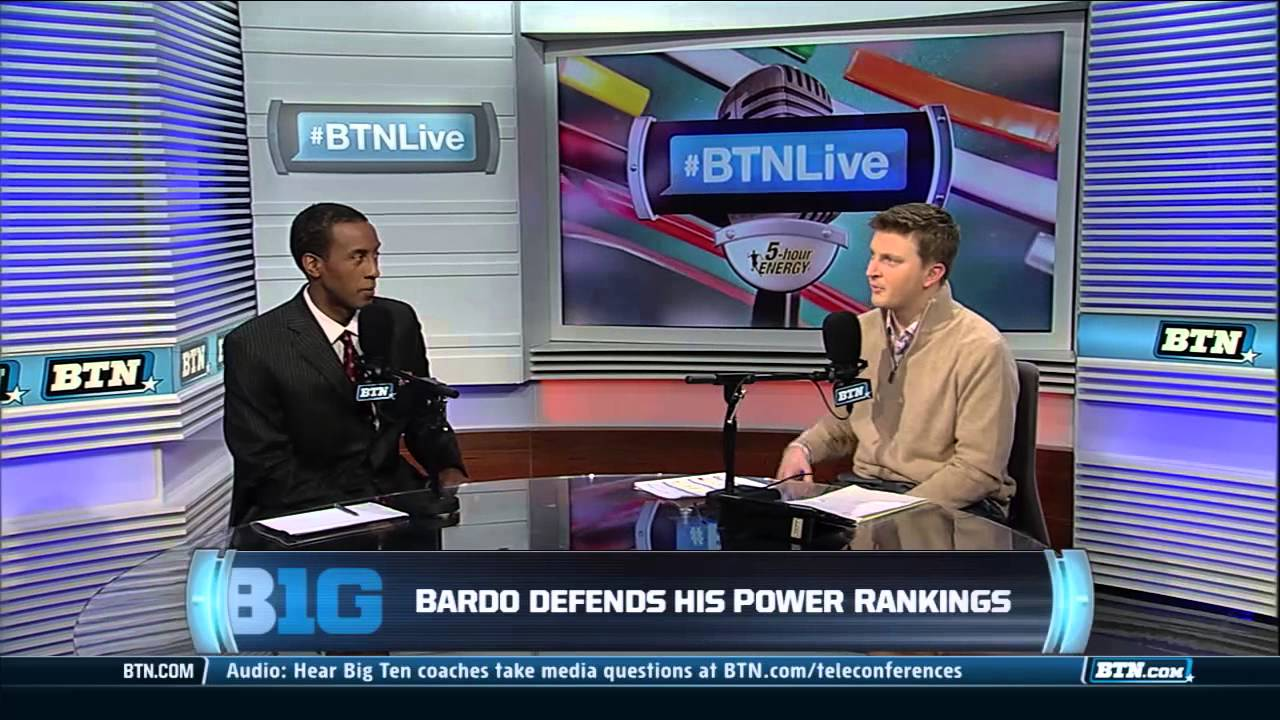 Stephen Bardo on his Power Rankings