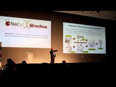 NetsciX keynote talks - Jiawei Han