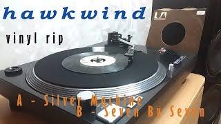 Hawkwind – Silver Machine / Seven By Seven 7'' (1972 VINYL RIP)