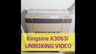 UNBOXING RELAY TEST KIT - KINGSINE K3063I
