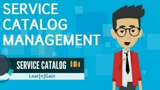 SERVICE CATALOG MANAGEMENT | Learn and Gain - Service Center and Computer Store examples(, 2016-08-26T06:09:27.000Z)