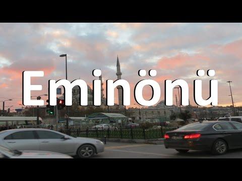 Vacation Turkey: Eminönü - Galata Bridge - Galata Tower - Istanbul - HD