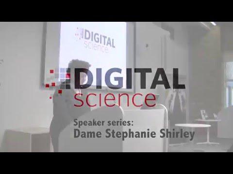 "Digital Science Speaker Series: Dame Stephanie ""Steve"" Shirley - Inspiring Women"