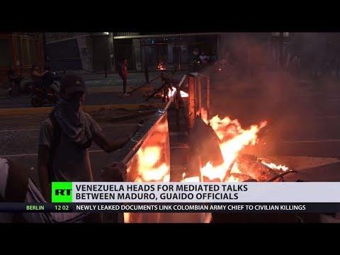 US fails Venezuela regime change: Maduro & Guaido head for mediated talk