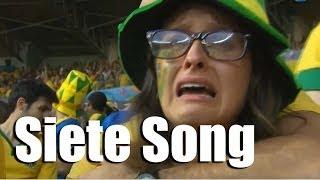 Siete song - La goleada Alemania - Brasil (subt. português, Deutsch) - Internautismo Crónico