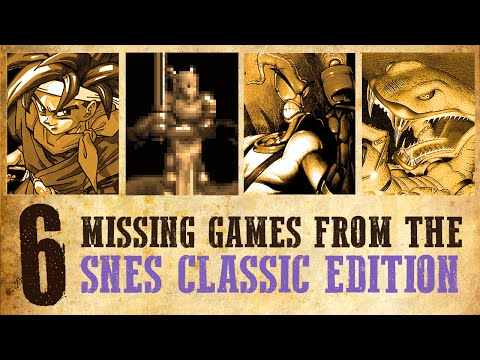 6 Games Missing From The SNES Classic Edition