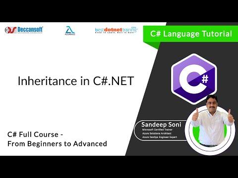 C# - Oops | Types Of Inheritance