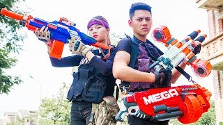 LTT Nerf War : SEAL X Warriors Nerf Guns Fight Captain Criminal Group Squad Tigers