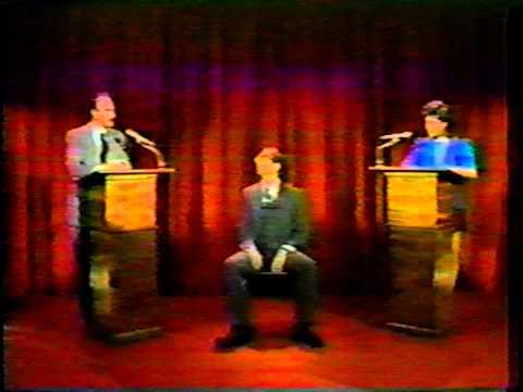 Moon Zappa, G. Gordon Liddy Debate