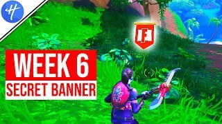 FORTNITE WEEK 6 SECRET BANNER LOCATION! (Season 8 Week 6 loading screen)