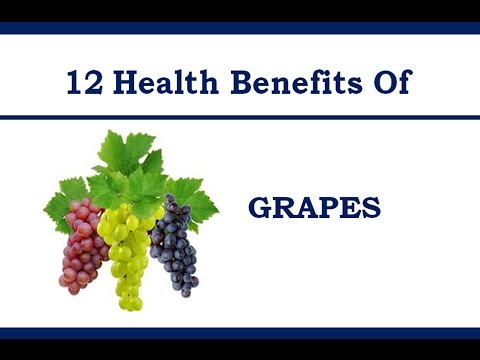 Must Know 12 Health Benefits of GRAPES