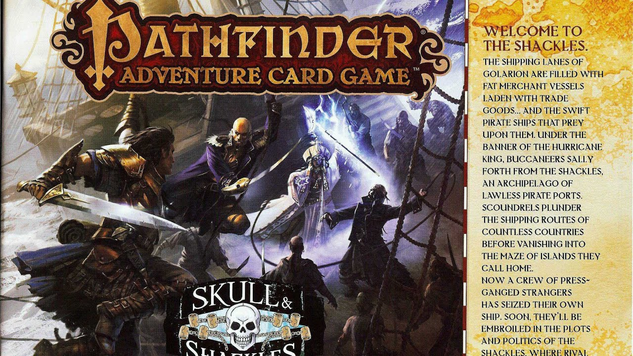 Download Pathfinder Adventure Card Game: Skull and Shackles - Part 1 (How To Play)