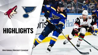NHL Highlights | Coyotes @ Blues 2/20/20