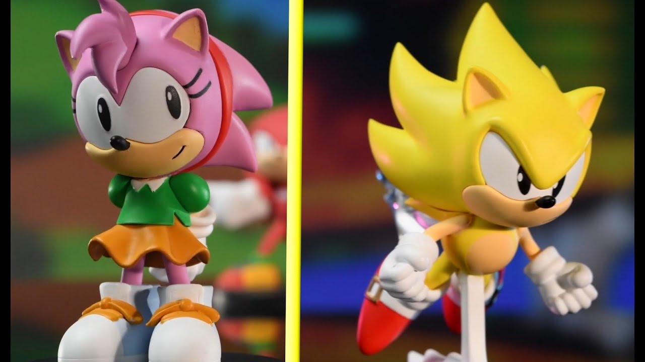 New Sonic Boom8 Series Statues Reveal Trailer Youtube