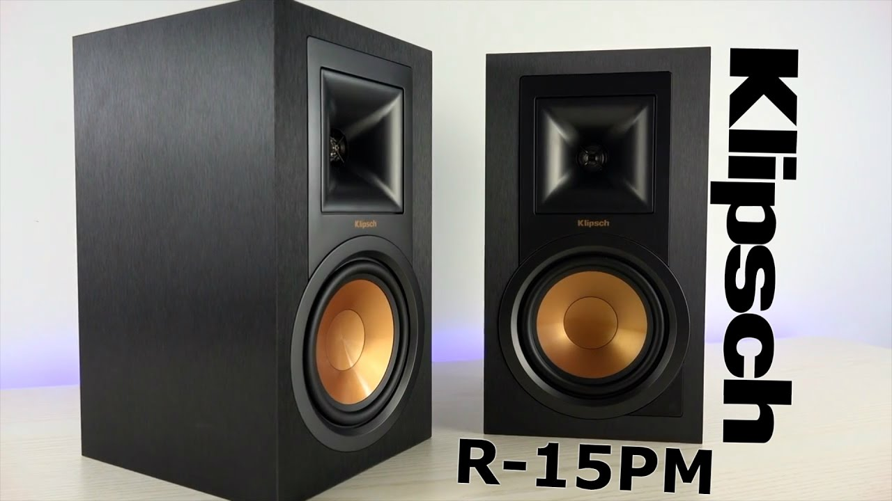 Klipsch R-15PM Powered Monitors Review - YouTube