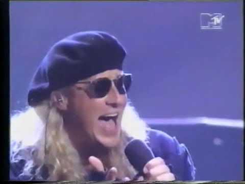 MTV 1992  Music Awards  Def Leppard lets get rocked