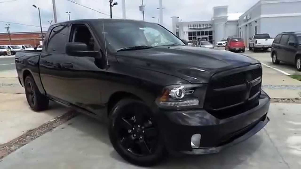 maxresdefault Blacked Out Dodge Ram