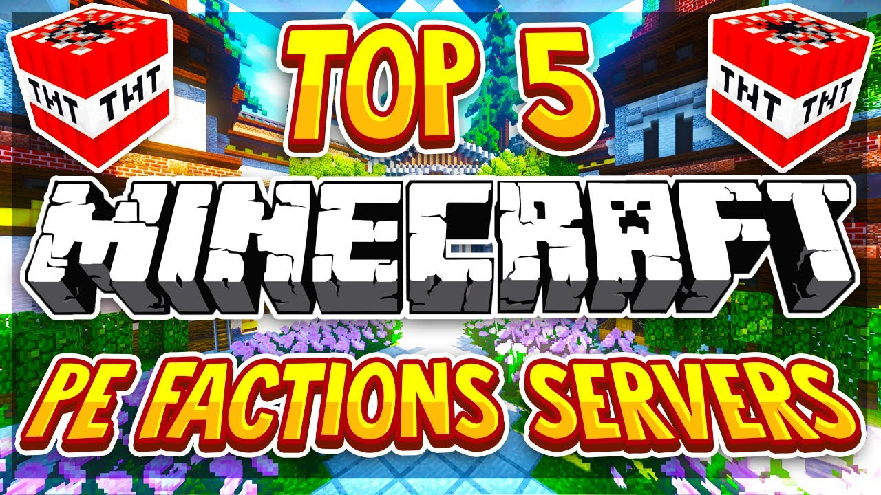 Top 5 Factions Servers Mcpe 1 16 2020 Hd New Big Minecraft Servers Youtube