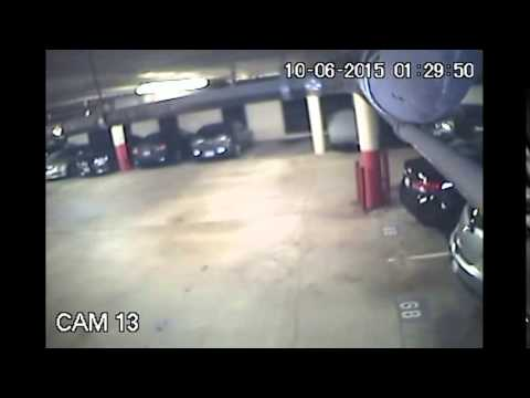 Los Angeles Parking Garage Theft Apprehension 10/6/15