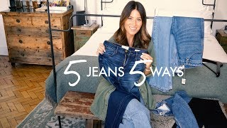 5 JEANS STYLED 5 WAYS | WE ARE TWINSET