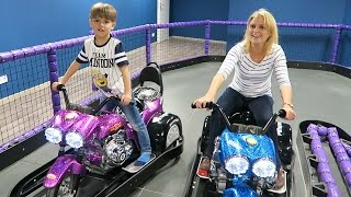 Toys Bikes Family Fun Ride - Indoor Playground