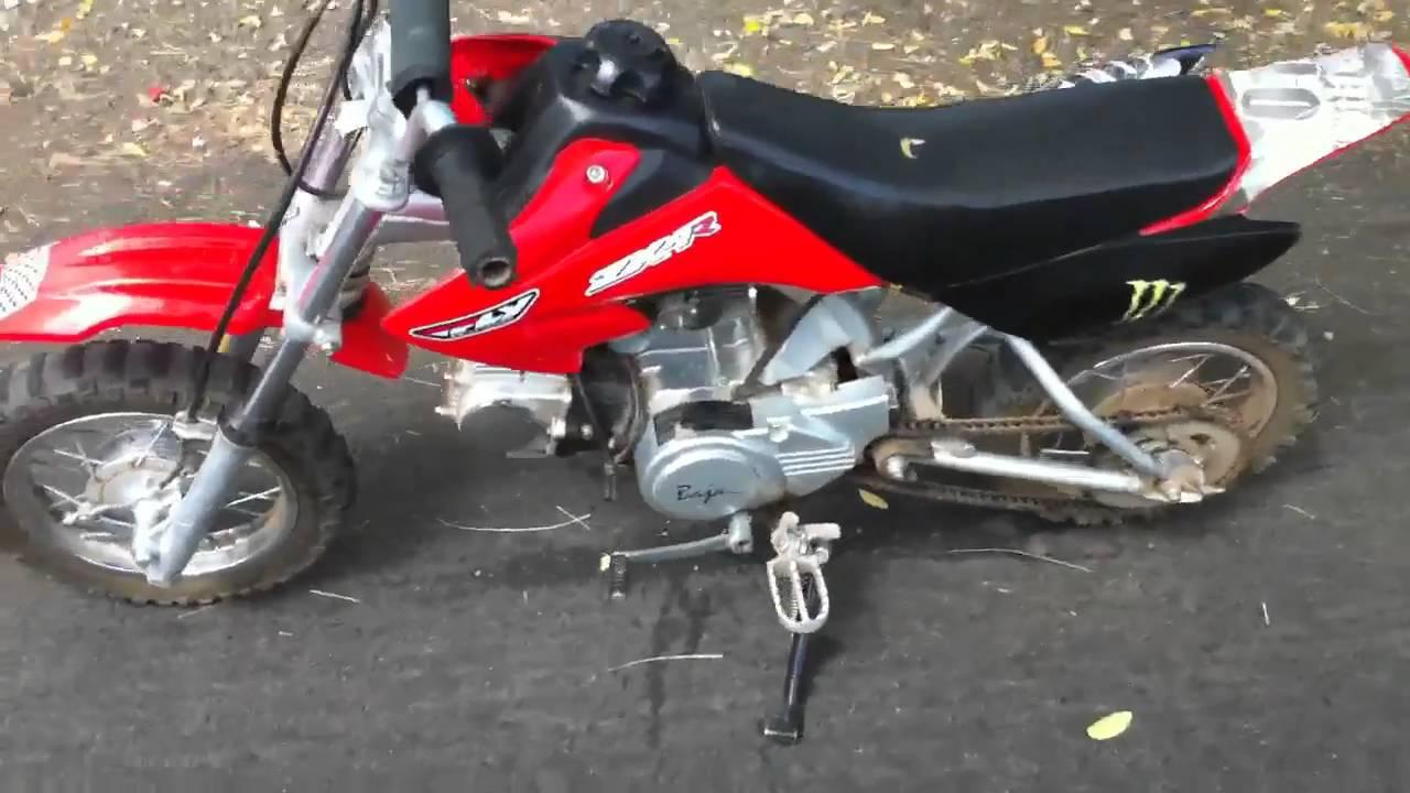 50cc baja pit bike dirt bike  YouTube
