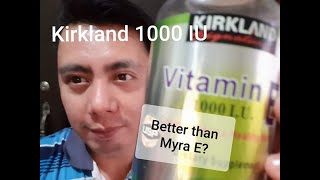 BETTER THAN MYRA E? Real testimony/ honest review after using Kirkland Vitamin E 1000 IU for 2 years