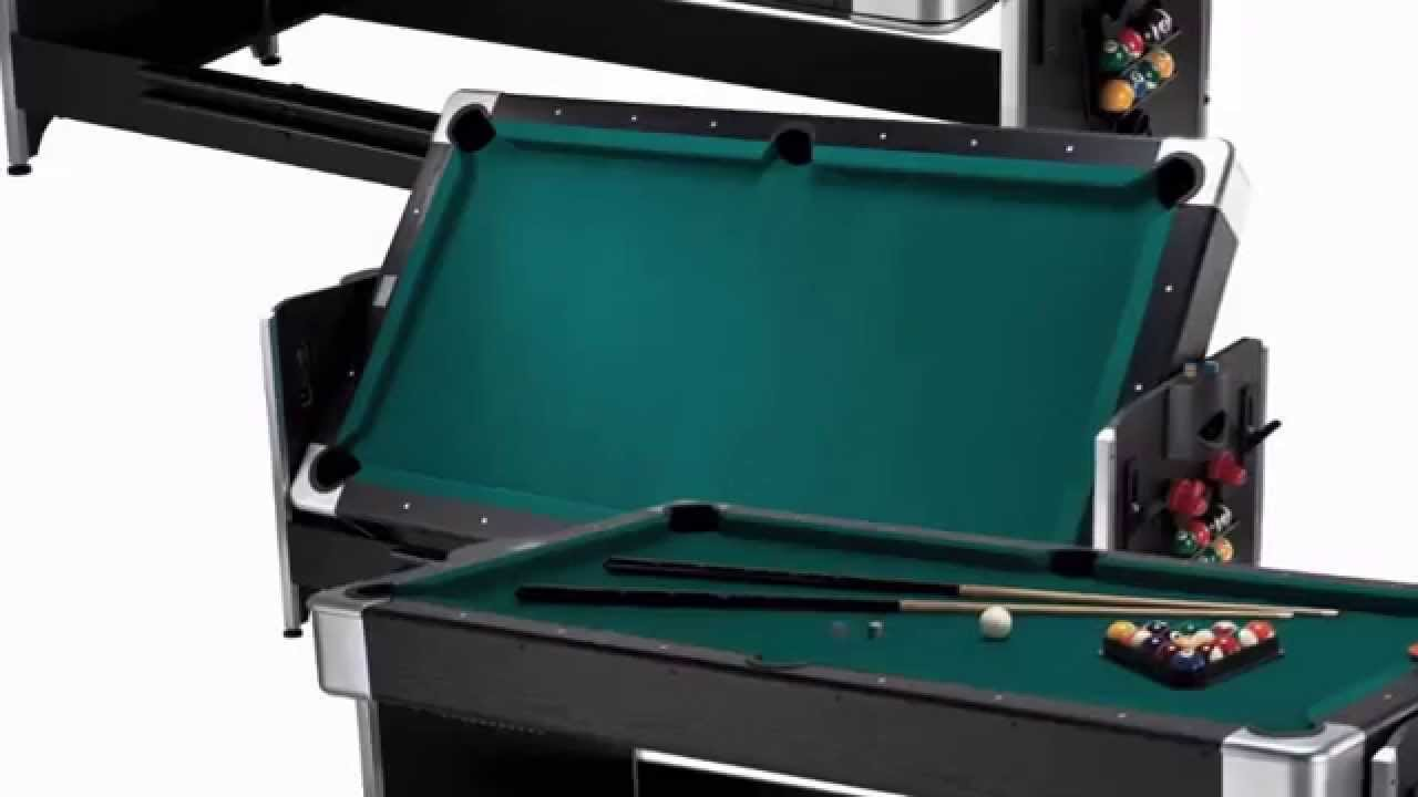Best Price Best Buy Fat Cat 7 Foot Black Pockey Combination Table