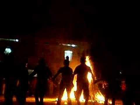 Đêm đốt lửa trại tại trường Phan Bội Châu- Cam Ranh (3)