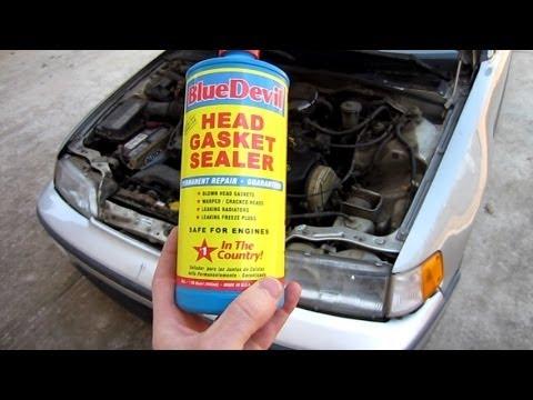 Testing Blue Devil Head Gasket Sealer on a 300,000 mile 1989 CRX and 2 week update