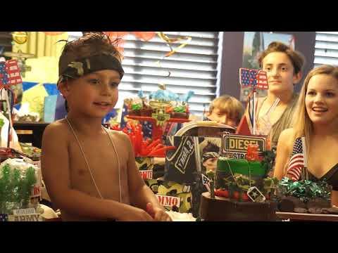 Kids Army Birthday Party| DIESEL ROJAS